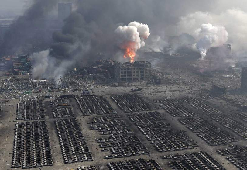 CHINA-TIANJIN-EXPLOSION (CN)