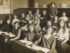 Miss Bowls's class in an  unidentified girls' school         Date: circa 1905    Source: postcard