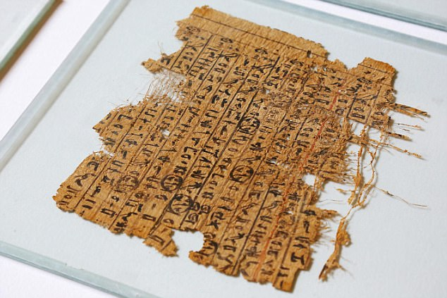 Merer papyrus