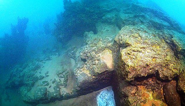 ziduri scufundate