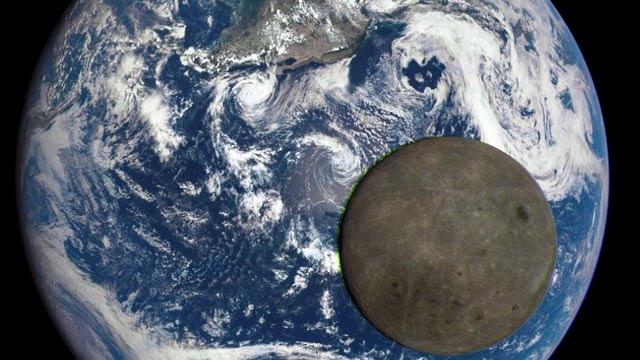 Luna si Terra